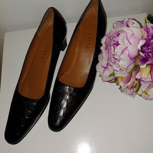 Ralph Lauren black shoes